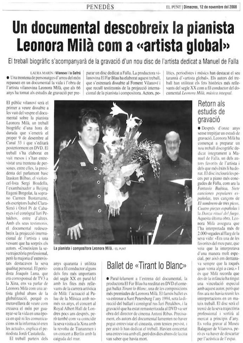 El Punt (12-11-2008)