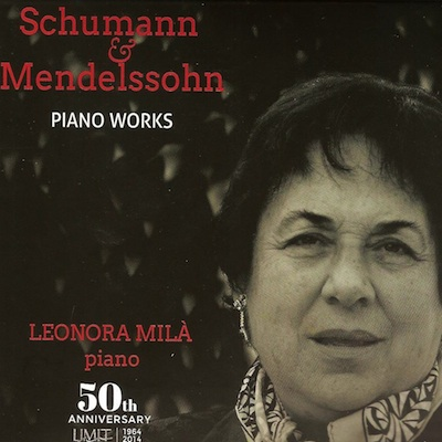 Shumann and Mendelssohn